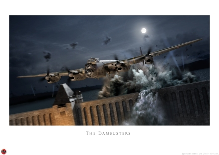 New Dam-Buster print by Finest Hour designer, Adam Tooby