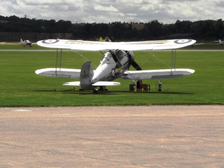 L8032 on a trip to Duxford's Flying Legends air display