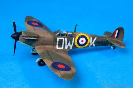 The 'new tool' Spitfire kit is one of Airfix's latest acclaimed releases