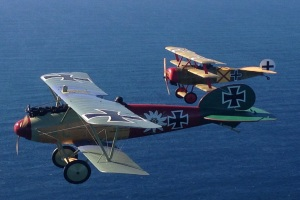 WAHT's Albatros gets an air test from Kermit Weeks