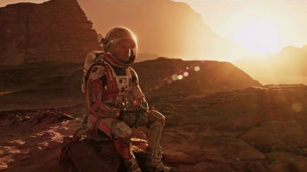 Scott helmed the uplifting tale of The Martian...